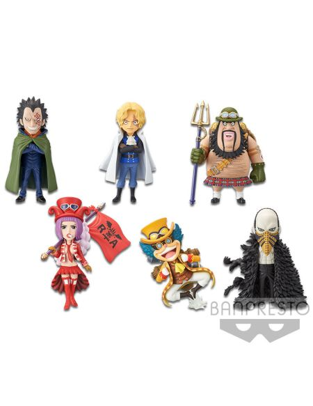 Figurine Movie World Collectable - One Piece Stampede - Assortiment 6 Pieces