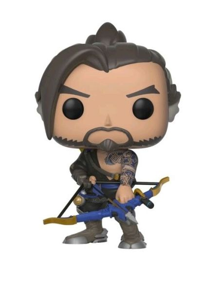 Figurine Funko Pop! N°348 - Overwatch - Hanzo