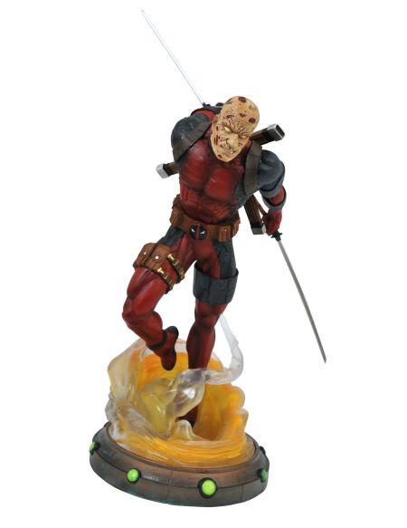 Statuette Diamond Select Gallery - Marvel - Deadpool Démasqué 25 Cm