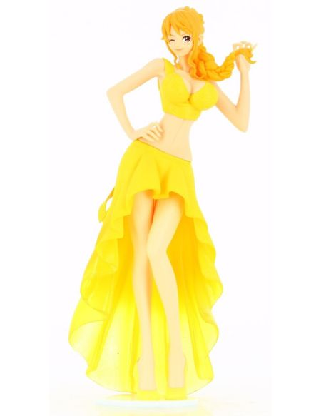 Figurine Lady Edge - One Piece - Wedding-nami (jaune)