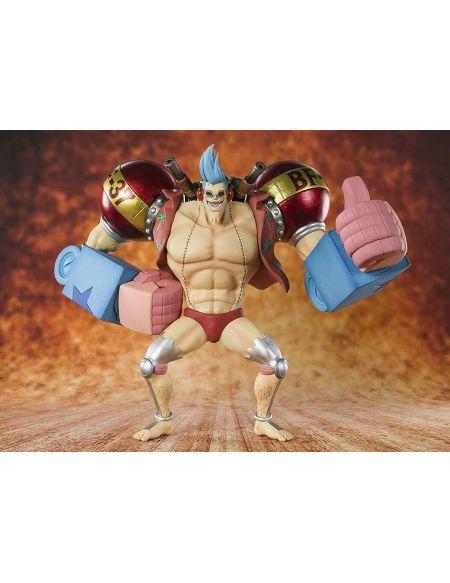 Figurine Tamashii Nations - One Piece - Zero Cyborg Franky Bonus