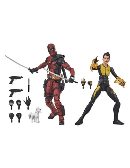 Figurine - X-Men - Deadpool et Negasonic