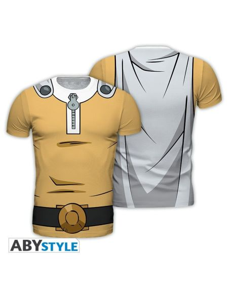 T-shirt Homme - One Punch Man - Saitama - Taille Xl