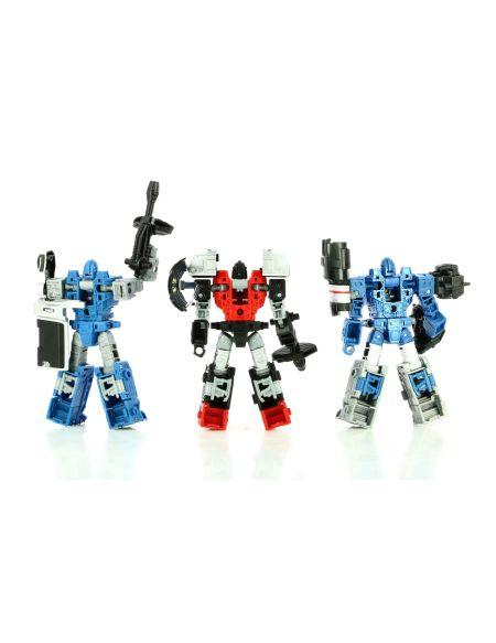 Figurine Wfc - Transformers - Refraktor Pack de 3