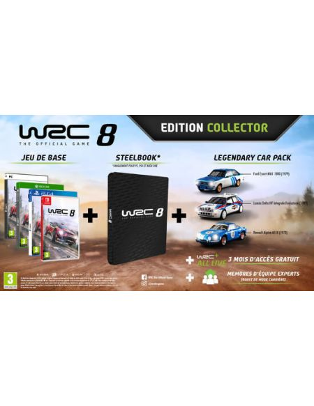 Wrc 8 Edition Collector
