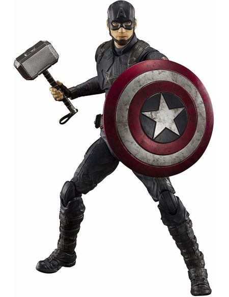 Figurine Sh Figuarts - Avengers Endgame - Captain America + Effets