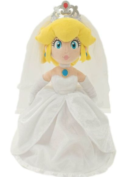 Peluche - Super Mario Odyssey - Peach Wedding 40 cm