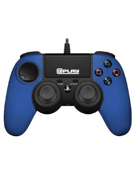 @play Manette Filaire Bleue Ps4 Officielle Sony New Box