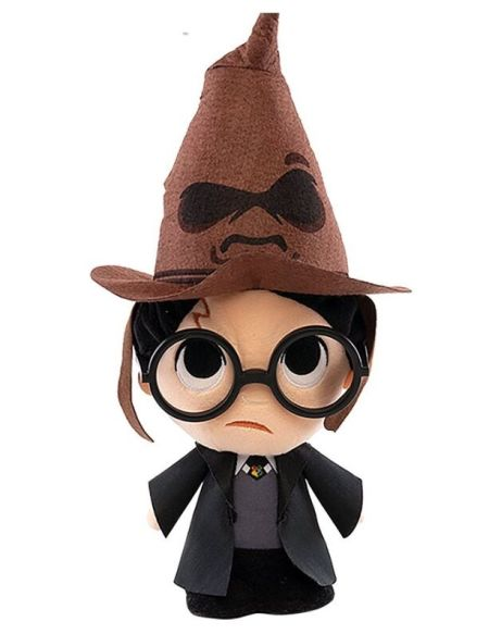 Peluche Supercute - Harry Potter - Harry avec Choixpeau