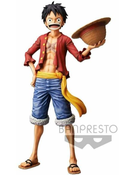 Figurine Grandista Nero - One Piece - Monkey D Luffy