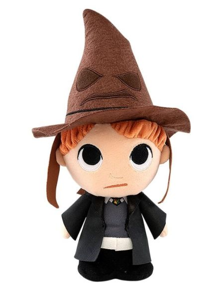 Peluche Supercute - Harry Potter - Ron avec Choixpeau