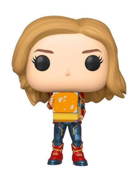 Figurine Funko Pop! N°444 - Captain Marvel - Captain Marvel avec lunch box