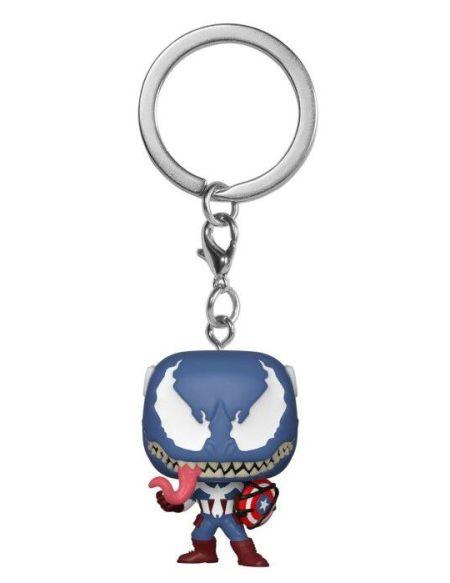 Porte-clés Funko Pop! - Venom - Captain America