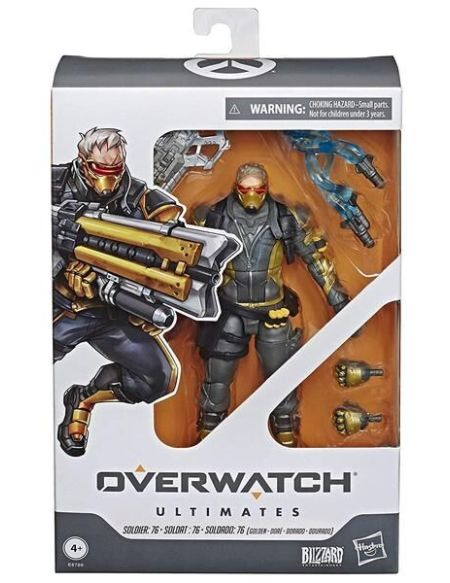 Figurine Ultimates - Overwatch - Soldier 76 (exclusivité Micromania)