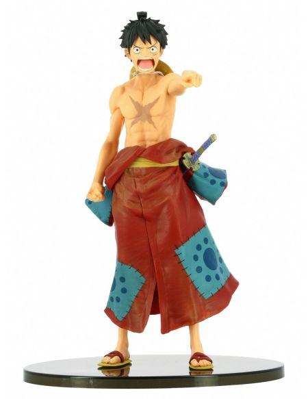 Figurine Bwfc Colosseum 2 - One Piece - Luffy Wano