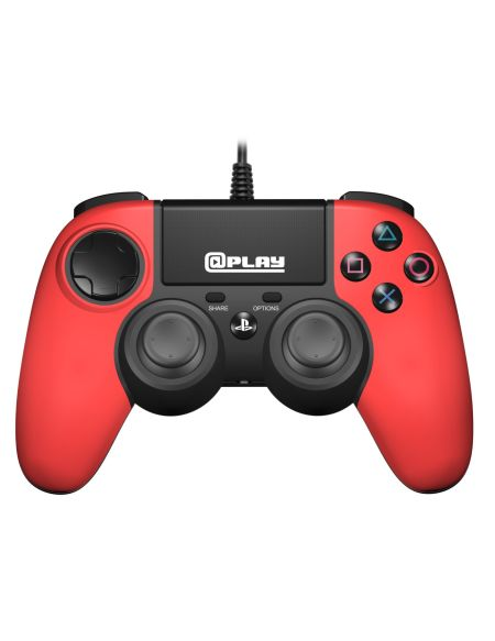 @play Manette Filaire Rouge Ps4 Officielle Sony New Box