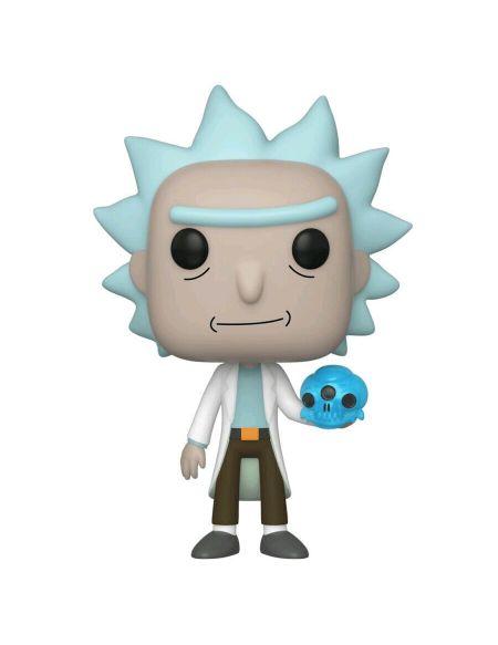 Figurine Funko Pop! N°692 - Rick Et Morty - Rick Avec Crâne En Cristal