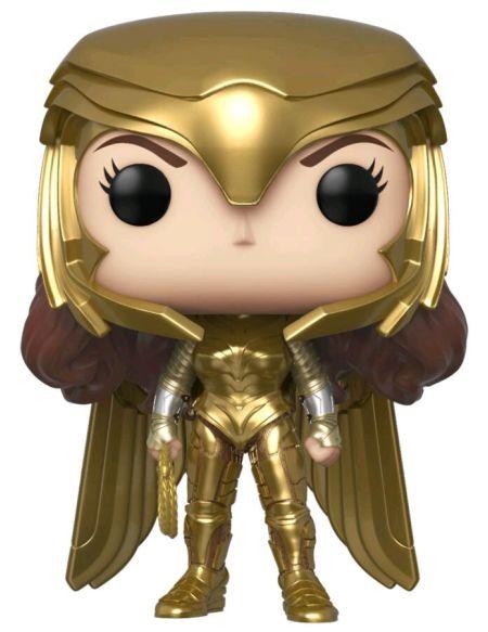 Figurine Funko Pop! Ndeg323 - Wonder Woman 1984 - Wonder Woman Costume Dore