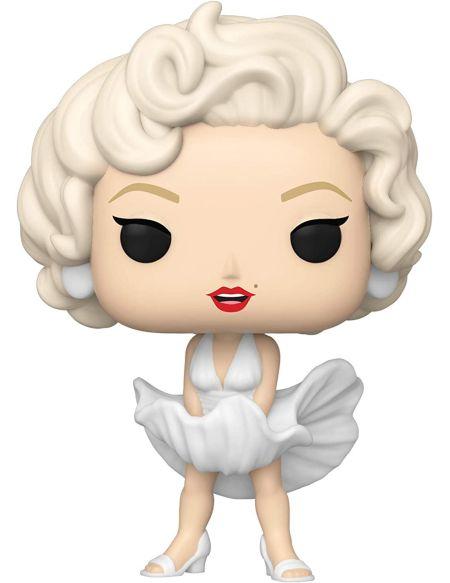 Figurine Funko Pop! N°24 - Icons - Marilyn Monroe (robe Blanche)