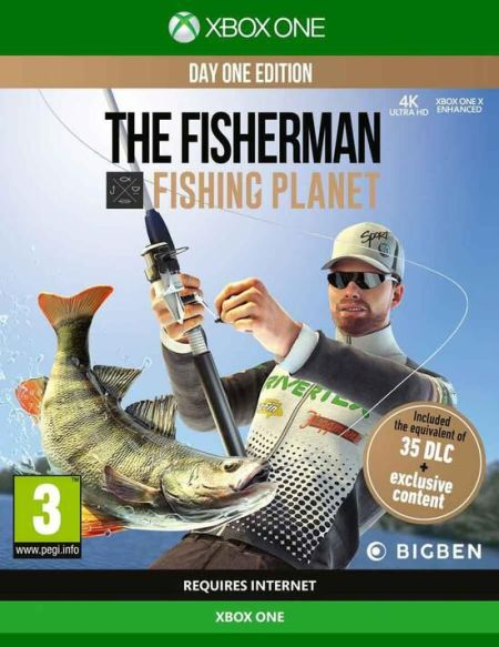 Fisherman Fishing Planet