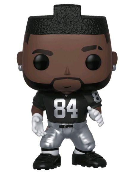 Figurine Funko Pop! N°136 - NFL : Raiders - Antonio Brown (home Jersey)