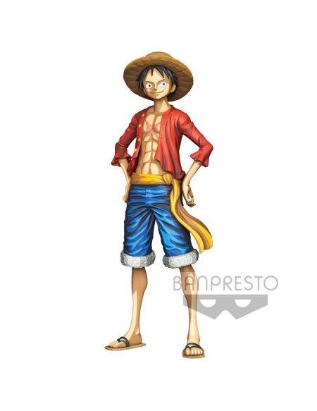 Figurine Grandista - One Piece - Monkey D. Luffy Manga Dimensions