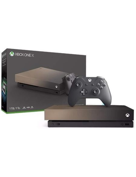 Pack Xbox One X 1to Gold Rush