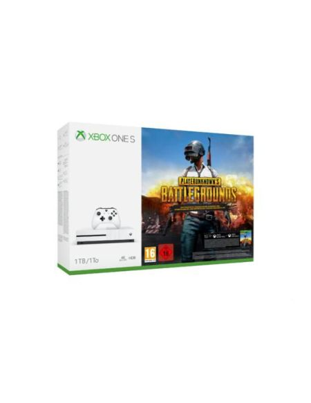 Pack Xbox One S 1 To Blanche + Playerunknown's Battlegrounds