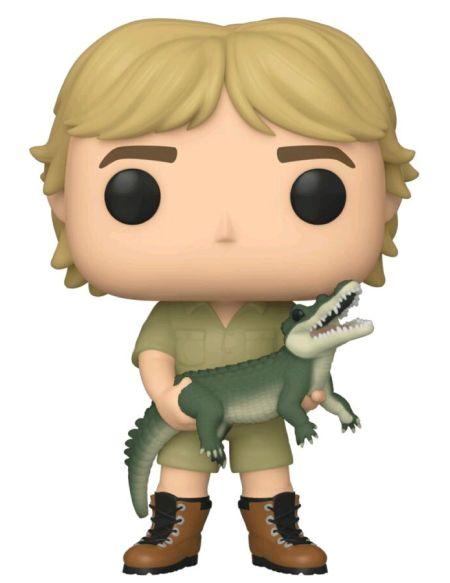 Figurine Funko Pop! N°921 - Crocodile Hunter - Steve Irwin ( C )