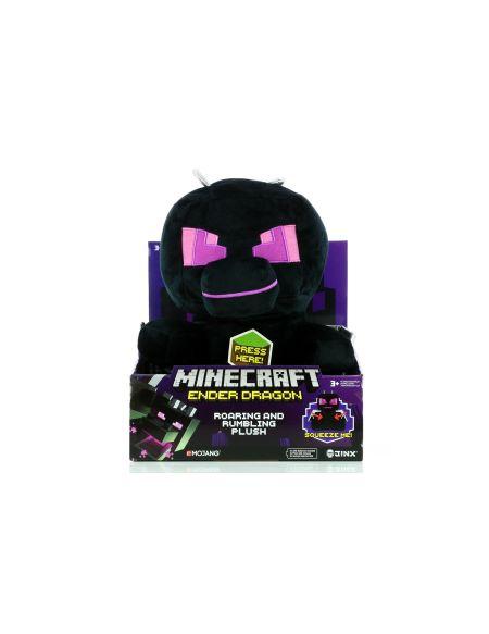 Peluche - Minecraft - Enderdragon Avec Vibrations Et Son