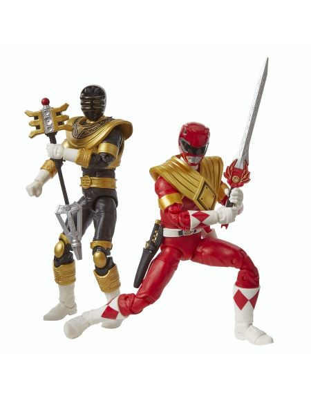 Figurine - Power Rangers - Pack 2 Figurines Premium 15 Cm