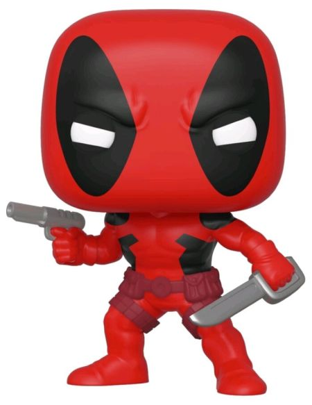 Figurine Funko Pop! Ndeg546 - Marvel 80th : First Appearance - Deadpool