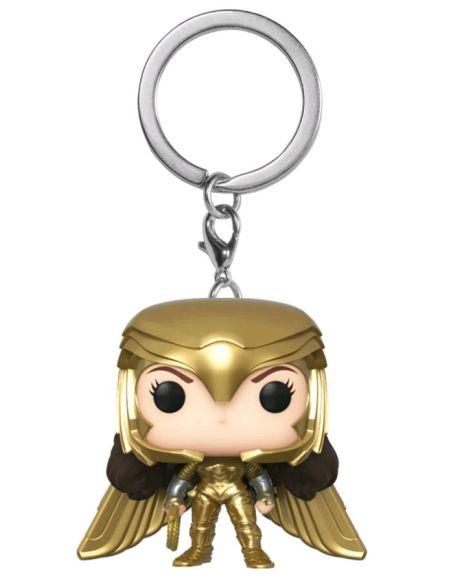 Porte-clés Funko Pop! - Wonder Woman 1984 - Wonder Woman - Costume doré