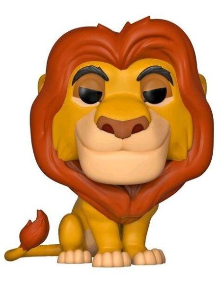 Figurine Funko Pop! Ndeg495 - Le Roi Lion - Mufasa