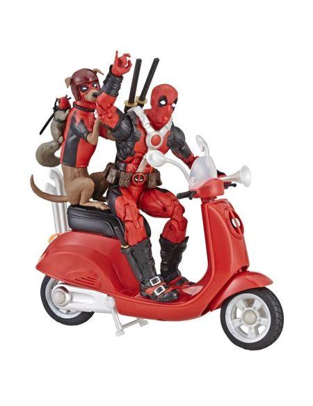 Figurine - Deadpool - Deadpool Sur Scooter