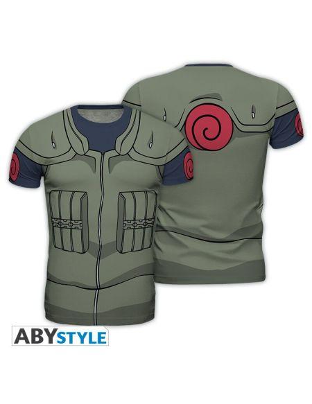 T-shirt Homme - Naruto Shippuden - Kakashi Costume - Taille Xl