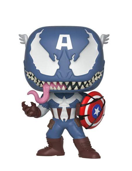 Figurine Funko Pop! N°364 - Venom - Venom en Captain America