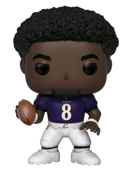 Figurine Funko Pop! N°120 - NFL : Ravens - Lamar Jackson