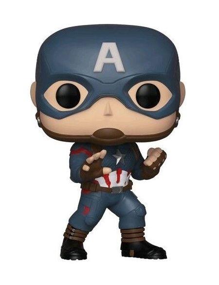 Figurine Funko Pop! N°450 - Avengers : Endgame - Captain America
