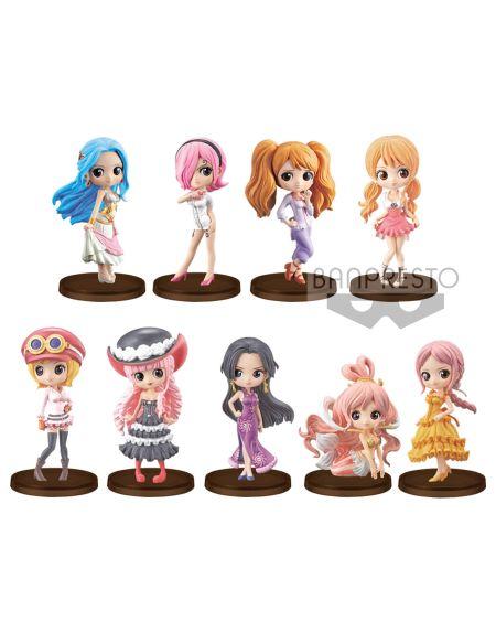 Figurine Q Posket Petit - One Piece - Assortiment Girls Festival