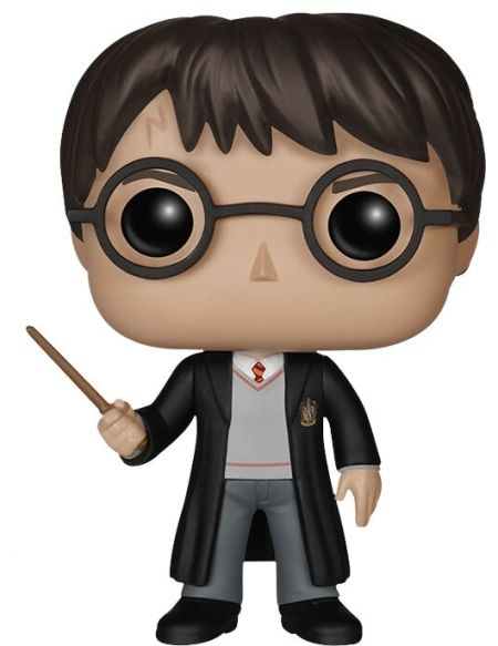 Figurine Funko Pop! Ndeg01 - Harry Potter - Harry et sa baguette