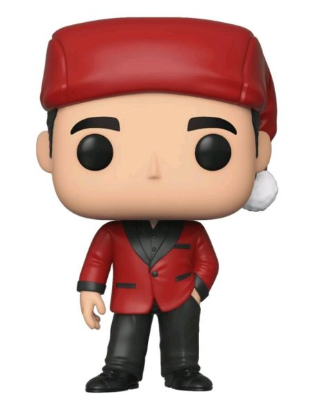 Figurine Funko Pop! N°906 - The Office - Michael En Santa Bond