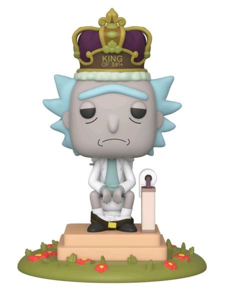 Figurine Funko Pop! N°694 - Rick Et Morty - Rick Aux Toilettes