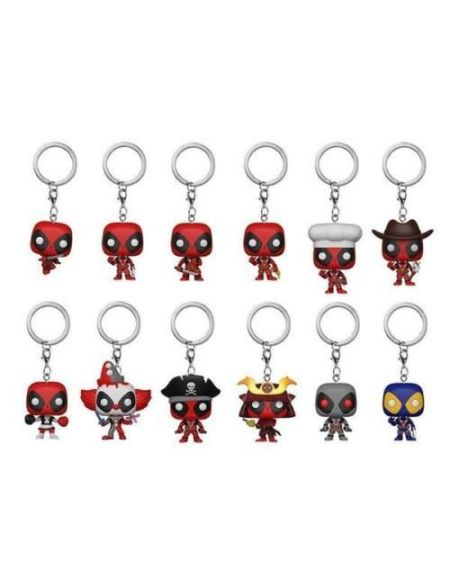 Porte-cles Funko Pop! Mystere - Deadpool - Playtime