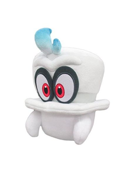 Peluche - Super Mario Odyssey - Cappy Blanc