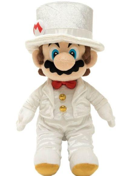 Peluche - Super Mario Odyssey - Mario Wedding 40cm