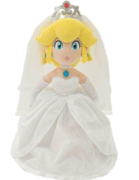 Peluche - Super Mario Odyssey - Peach Wedding 40cm