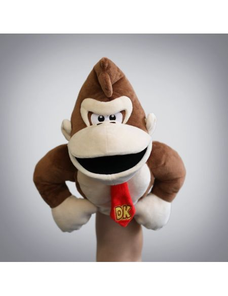 Marionnette Peluche - Mario - Donkey Kong (exclusivite Micromania)