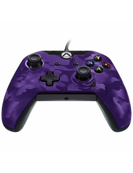 Manette Filaire Deluxe Camouflage Violette