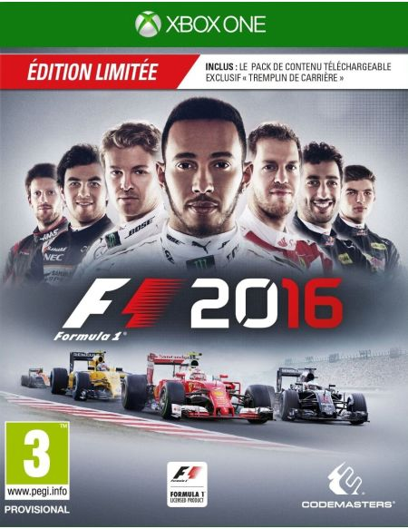 F1 2016 Edition Limitee D1